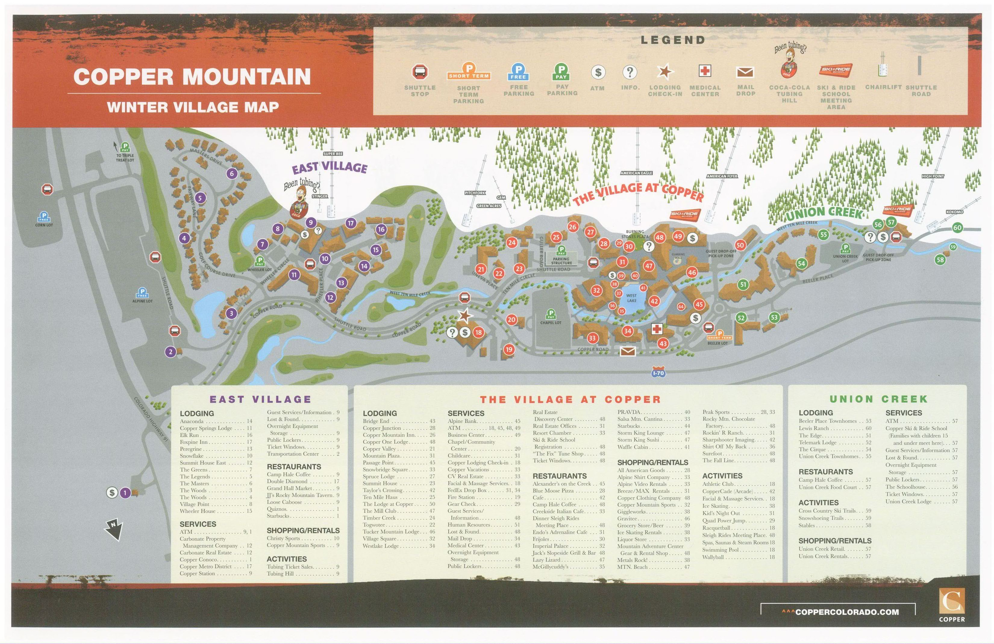 Ski Copper Mountain U2013 Customize Your Copper Mountain Ski Vacations With Rocky  Mountain Resort Management. Copper Mountainu0027s Award Winning Trail Layout ...